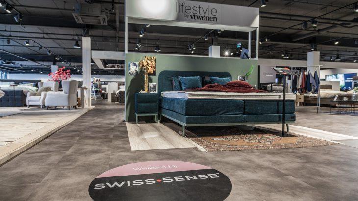 Swiss Sense flagship sfeerfoto