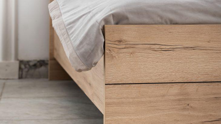 Bedframe Balance Elegant detail