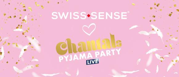 Swiss Sense partner van Chantals Pyjama Party