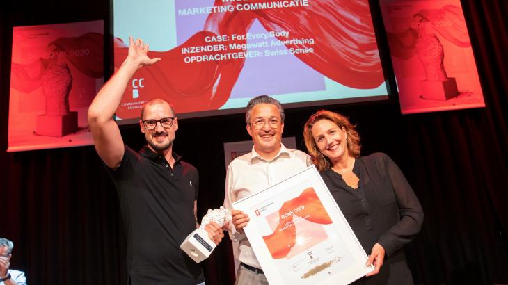 Swiss Sense bekroond met Communicatieprijs Brabant