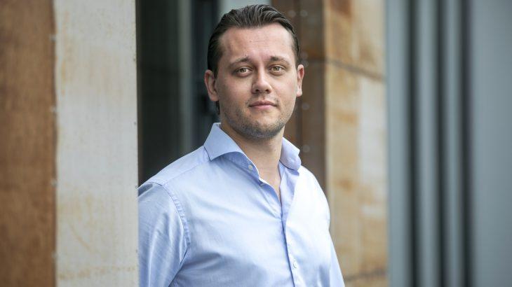 Portret of CEO Swiss Sense – Martin Diks